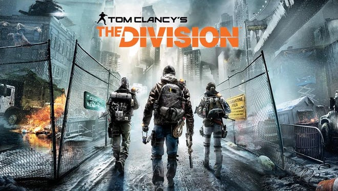Title screen from 'Tom Clancy's The Division'
