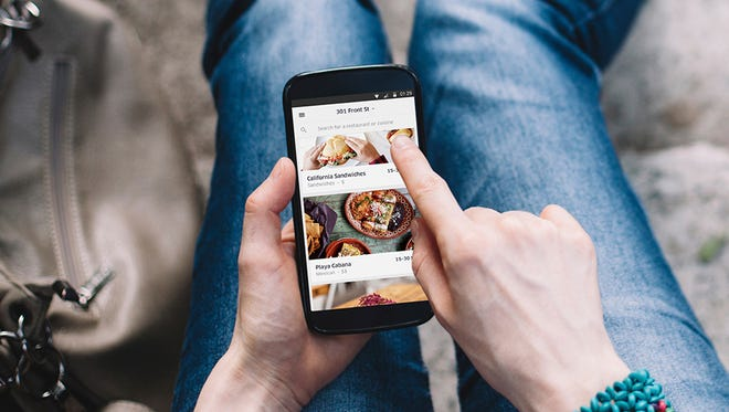The UberEats app launches this month in 10 U.S. cities as the popular ride sharing service takes on the competitive food delivery scene.