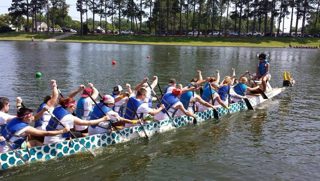 The 2016 Progressive Bank Bayou DeSiard Dragon Boat Festival begins at noon on Saturday, May 14, on Bayou DeSiard in Monroe.