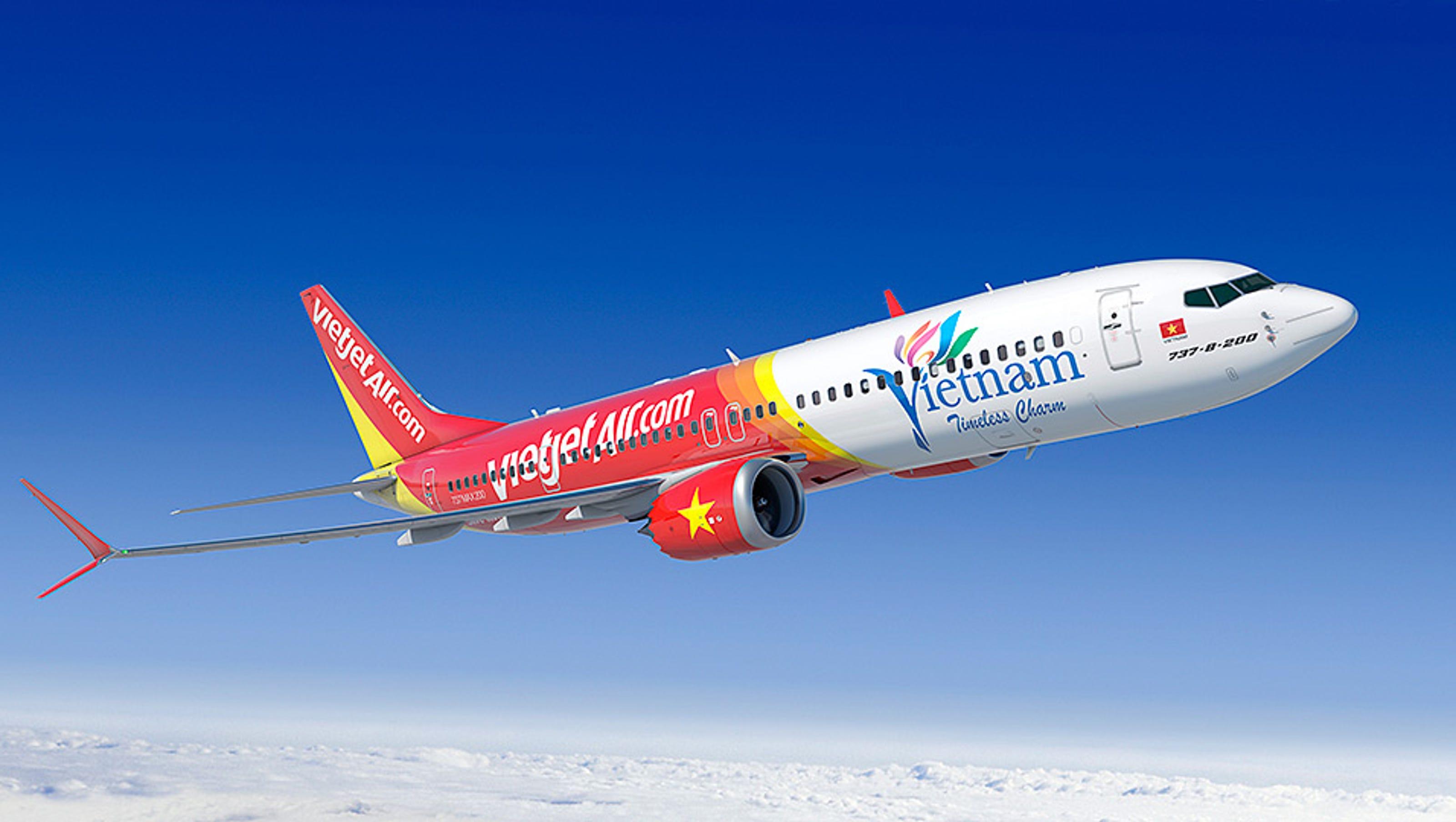 Resultado de imagen para Vietjet Air Boeing 737 MAX