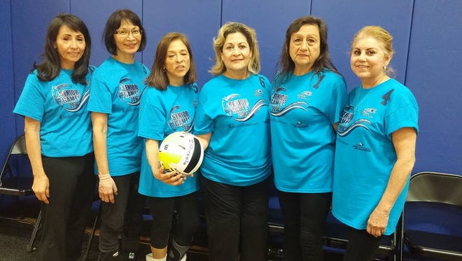 The Baby Boomers all-women's volleyball team won the gold medal at the Texas State Senior Games in San Antonio on April 9. The team, which represented El Paso, finished first in the women's 60-and-over division.