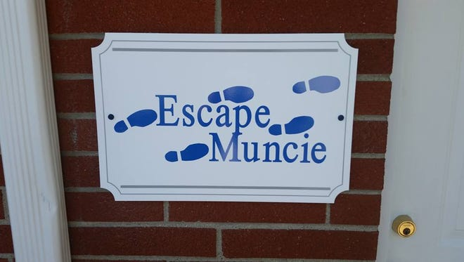 Escape Muncie is located at 300 N. Pauline Ave.