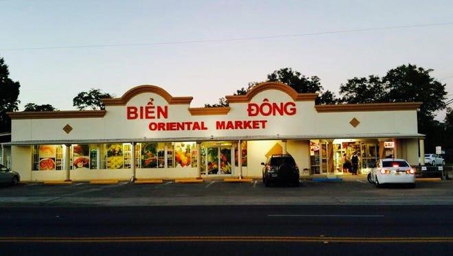 The Bien Dong Oriental Market.