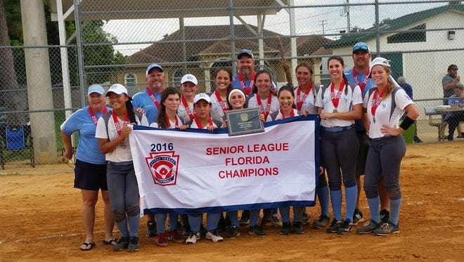 District 9 Senior League state champions.