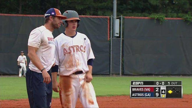 Tuscola sophomore Jack Sutton is a corner infielder for the East Cobb (Ga.) Astros.