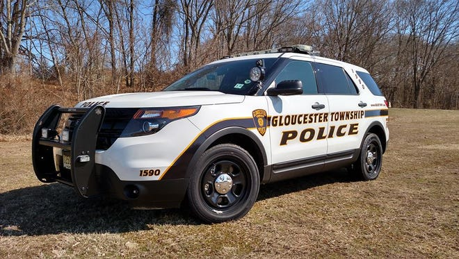 Gloucester Township police say suspects tried to steal an impounded vehicle that held a gun and marijuana.