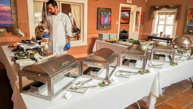 Sunday brunch buffet is served from 10:30 a.m. to 2:30 p.m. at Grill 49 in Tularosa.