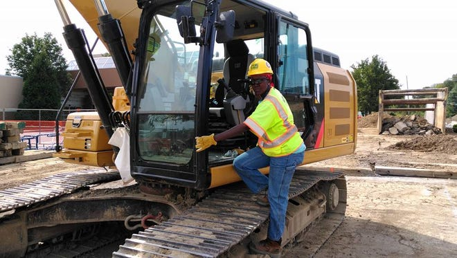 Victoria Kageni-Woodard, of York City, has been working in the construction industry for more than 14 years but never had a female superior.