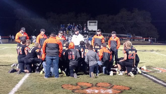 The Capitan Tigers earned a 27-13 victory over Dexter at home Oct. 28.
