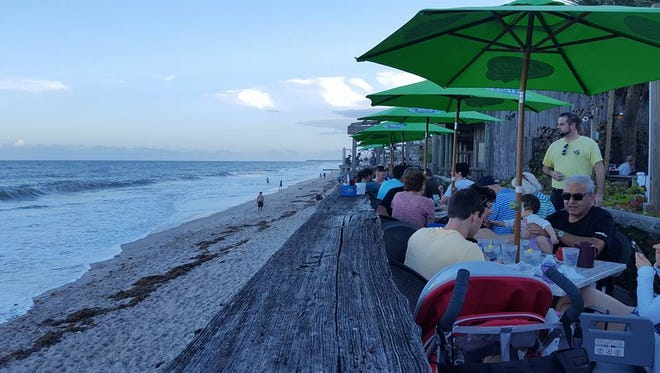 Waldo's Restaurant along Ocean Avenue in Vero Beach is a top spot if you want great waterfront views.