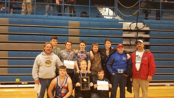 Madison won Friday's Western Highlands Conference wrestling tournament in Marshall.