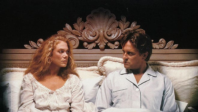 """Kathleen Turner and Michael Douglas star in """"The War of the Roses."""" Watch this 1989 movie and be glad you're alone for Valentine's Day."""
