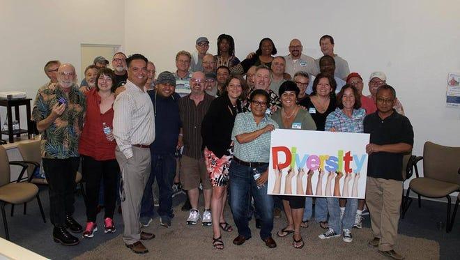 Members of DiversityDHS.