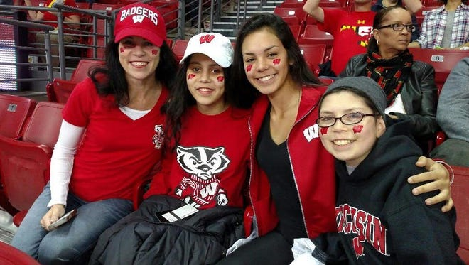 Lizzy Verdugo with Bridget Dermody and Izzy and Jordan Verdugo.
