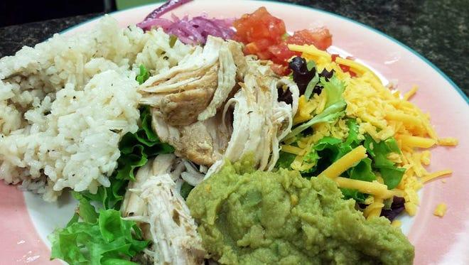 Little Fat Gretchen Cafe's Chicken Carnita Salad