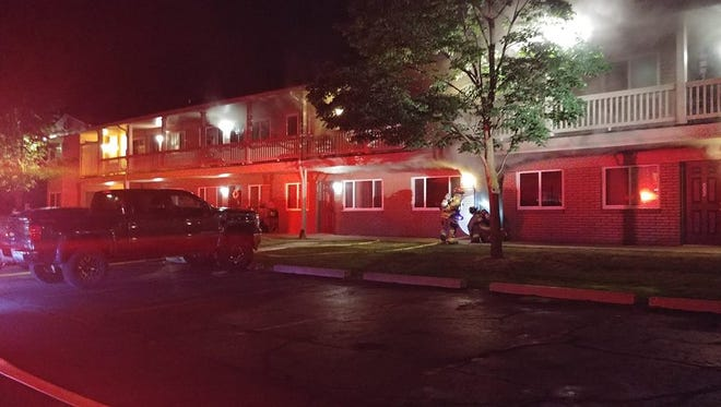 An early morning fire damaged units at the Water's Edge Apartments in South Lyon.