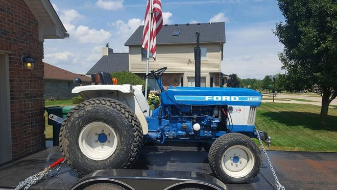 Sanilac County deputies are investigating the theft of a Ford tractor.