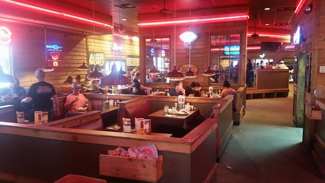 Logan's Roadhouse in San Angelo just hours before it closed.
