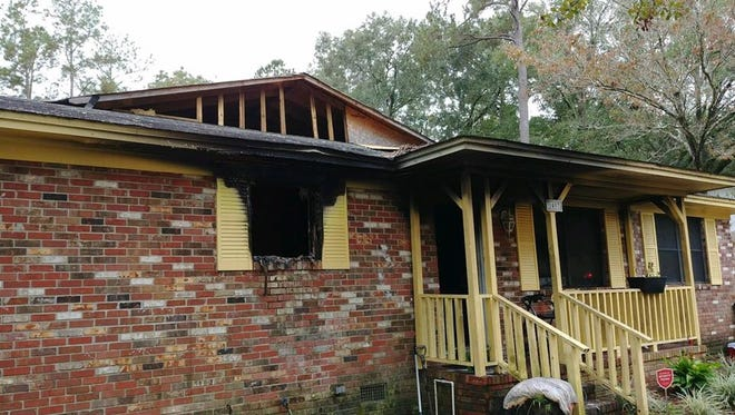 TFD extinguished a house fire on Thanksgiving Day.