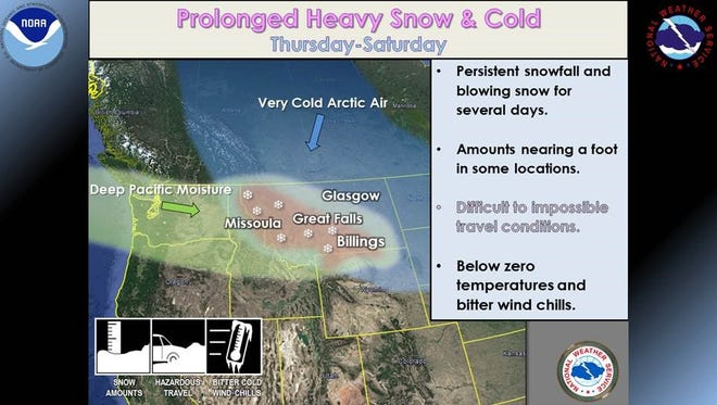 Prolonged Heavy Snow and Cold