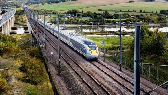 Eurostar will add London to Amsterdam service.
