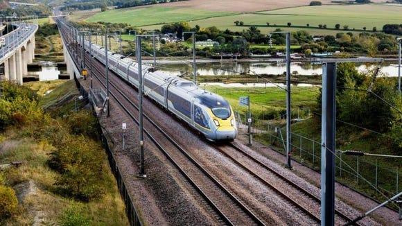 Eurostar will add London to Amsterdam service.