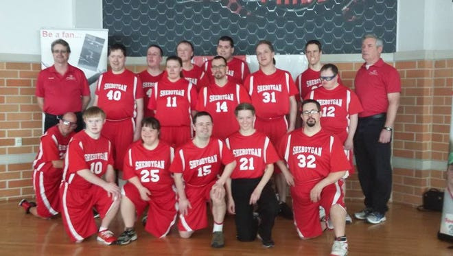 The Special Olympics have a strong presence in Sheboygan with a variety of opportunities for athletes, including basketball.