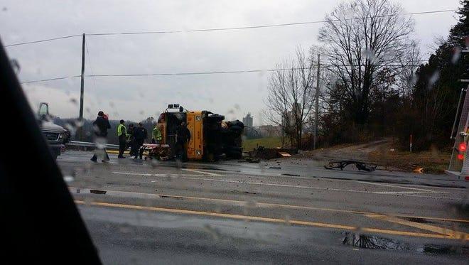 Several children injured in wreck involving multiple buses