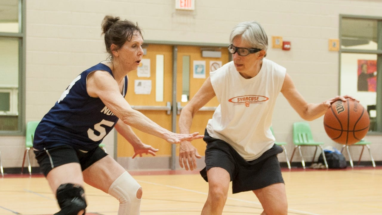 Camaraderie on court: Seniors play to win the game (of life)