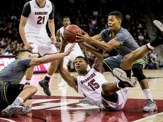NCAA Basketball: Vermont at South Carolina