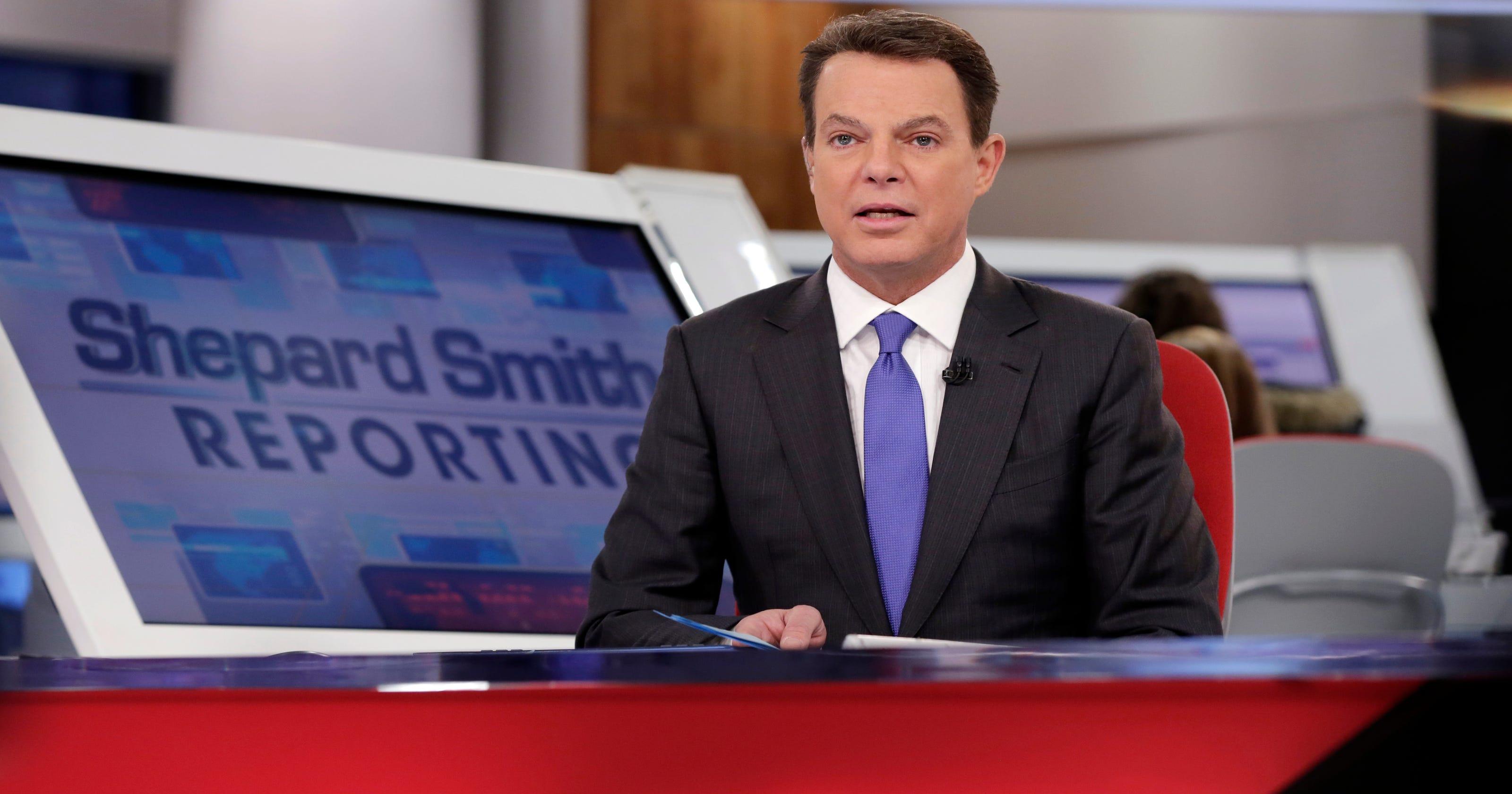 e775a6d97 Fox host Shepard Smith slams president