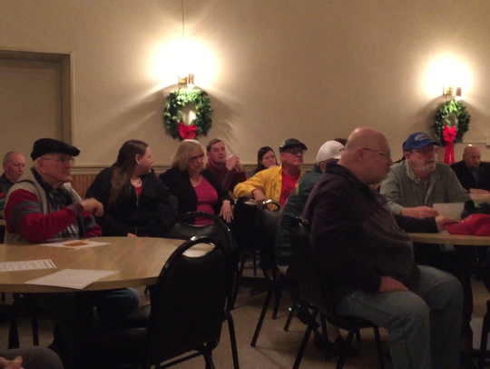 About 40 people attended a Community Forum Monday night