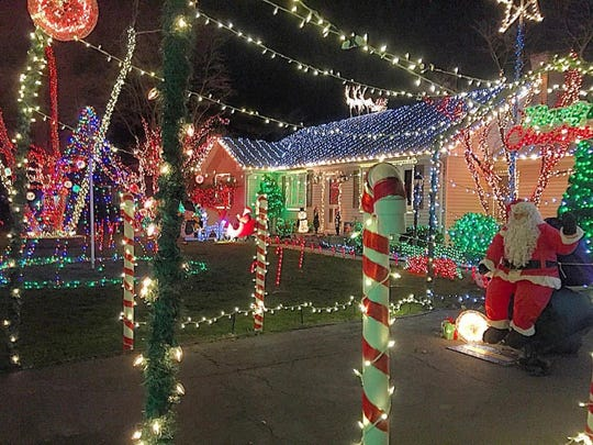 Holiday decorations abound in Central Jersey. Here's one lit-up house at 412 Ridge Road Dayton that you might want to check out for a holiday viewing treat.