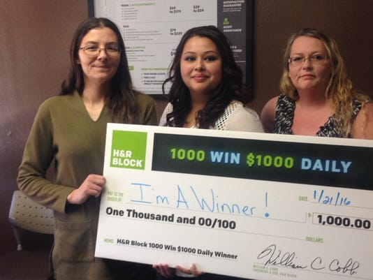 H&R Block winner