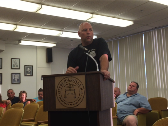 Richard Kott, a Millville police officer, told the City Commission at its July 5 meeting the Police Athletic League's new initiatives are a great success.