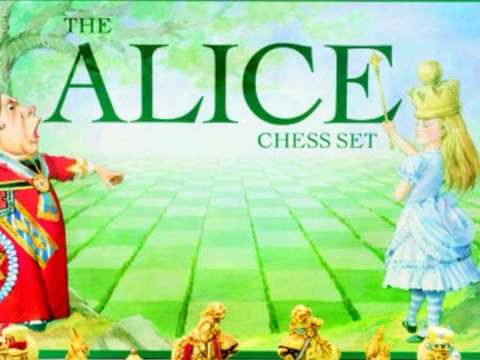 This chess set was the inspiration for the Checkmate