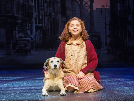 """""""Annie"""" at Paper Mill Playhouse"""