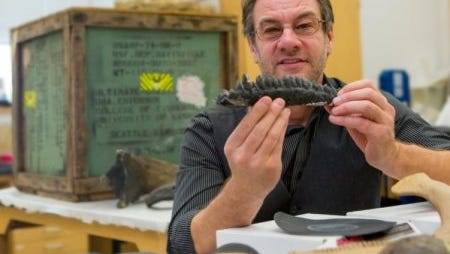 Dr. Gregory Erickson leads research team pioneers dinosaur egg research.