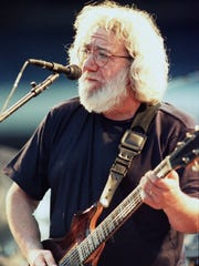 Jerry Garcia, pictured at Giants Stadium in East Rutherford