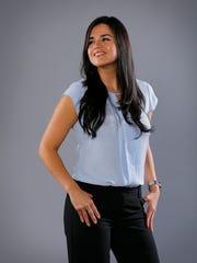 Veronica Rivera volunteers for Labor's Community Service