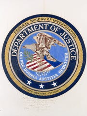 In the Ole Miss library is what is believed to be the first mock-up of the FBI's seal, inscribed to a Mississippi agent by J. Edgar Hoover.