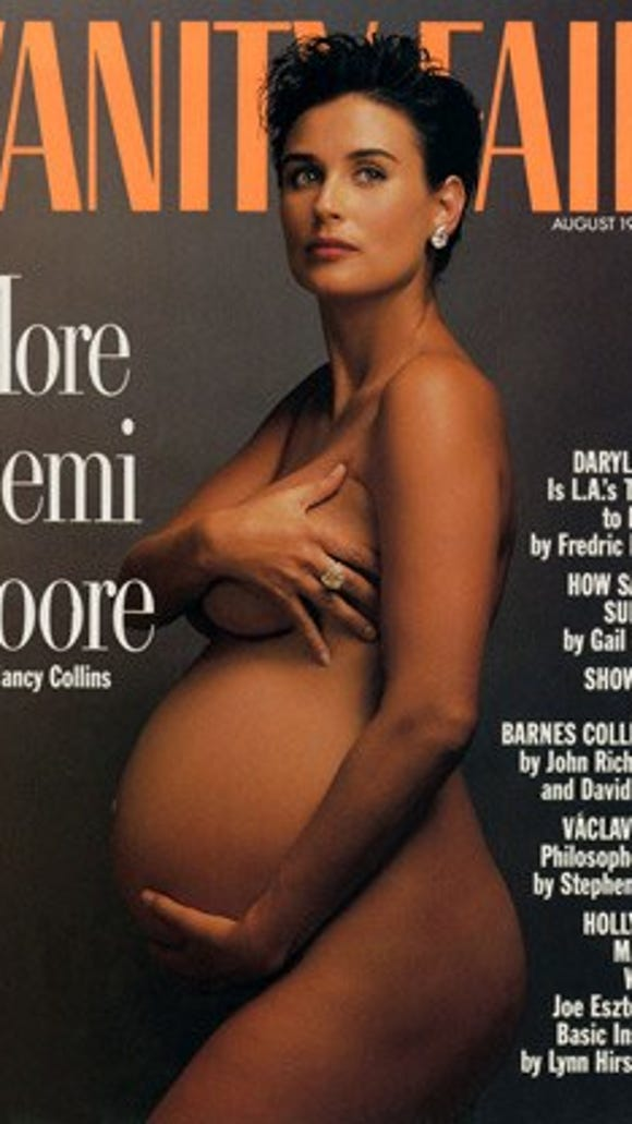 Pregnant Serena Williams goes nude for artistic 'Vanity Fair' cover