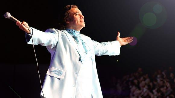 Juan Gabriel returns to the Don Haskins Center at 8 p.m. Sunday.