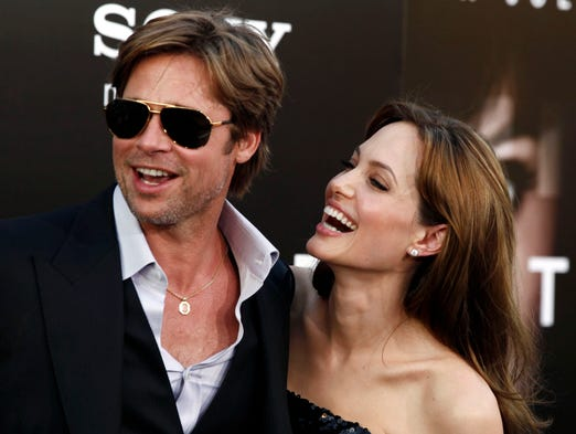 Brangelina is no more. Let's take a look at the supercouple