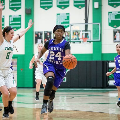 Yorktown took on Central in women's basketball Tuesday