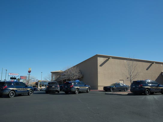 Las Cruces Police Officers responded to a robbery at