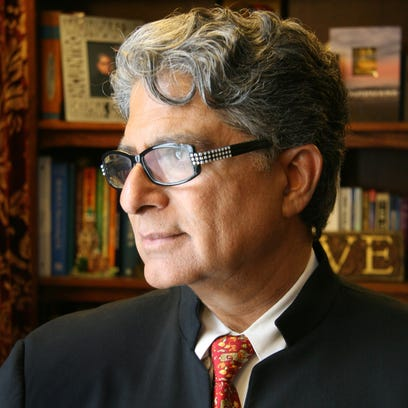 Deepak Chopra on well-being, smartphones and the presidential election