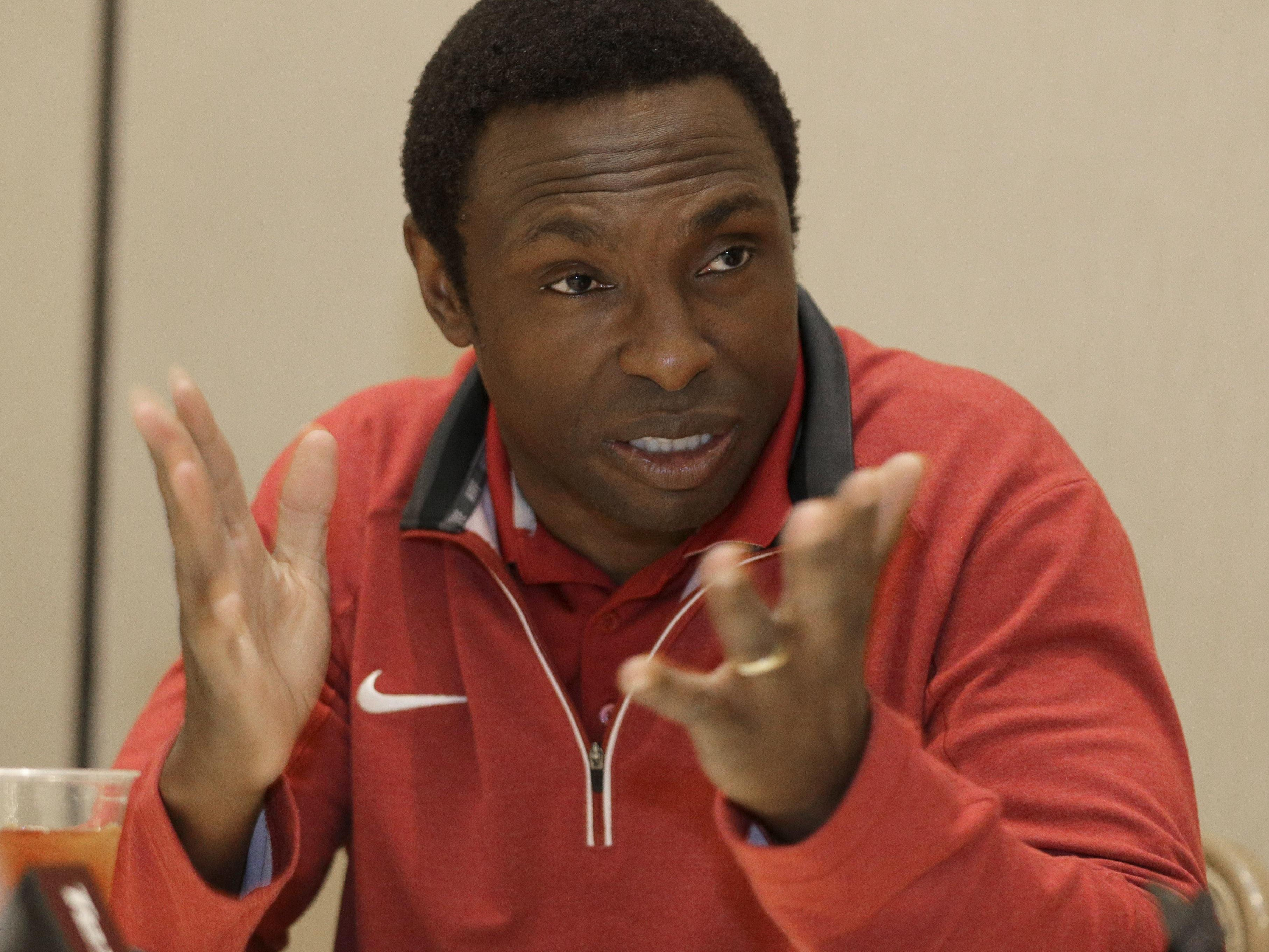 Alabama men's head basketball coach Avery Johnson and the Crimson Tide are picked by the media to finish 13th in the SEC.
