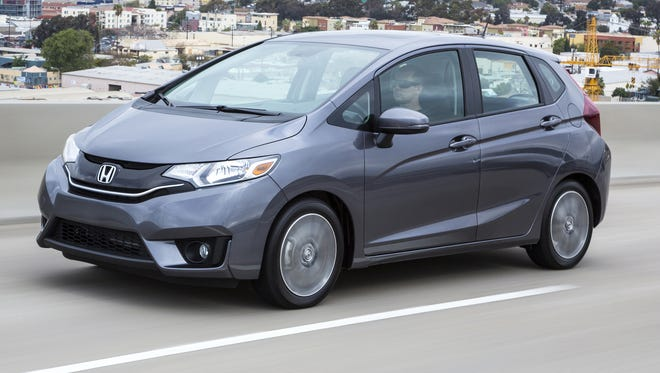 In seventh place, the new Honda Fit