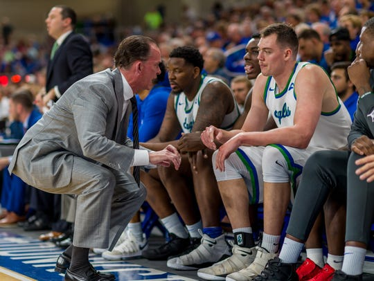 Fifth-season FGCU coach Joe Dooley has been blown away